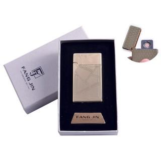 """USB зажигалка в подарочной упаковке """"Абстракция"""" (Двухсторонняя спираль накаливания) №4798B-1"""