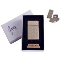 """USB зажигалка в подарочной упаковке """"Абстракция"""" (Двухсторонняя спираль накаливания) №4798B-2"""