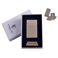 """USB запальничка в подарунковій упаковці """"Абстракція"""" (Двостороння спіраль розжарювання) №4798B-3"""