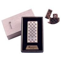 """USB зажигалка в подарочной упаковке """"Broad"""" (Двухсторонняя спираль накаливания) №4850-2"""