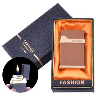 Зажигалка кремниевая в подарочной упаковке (Обычное пламя) №Honest-22-1