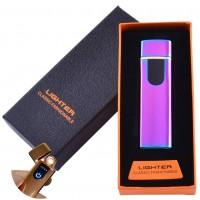 USB зажигалка в подарочной упаковке Lighter (Спираль накаливания) №HL-48 Хамелеон