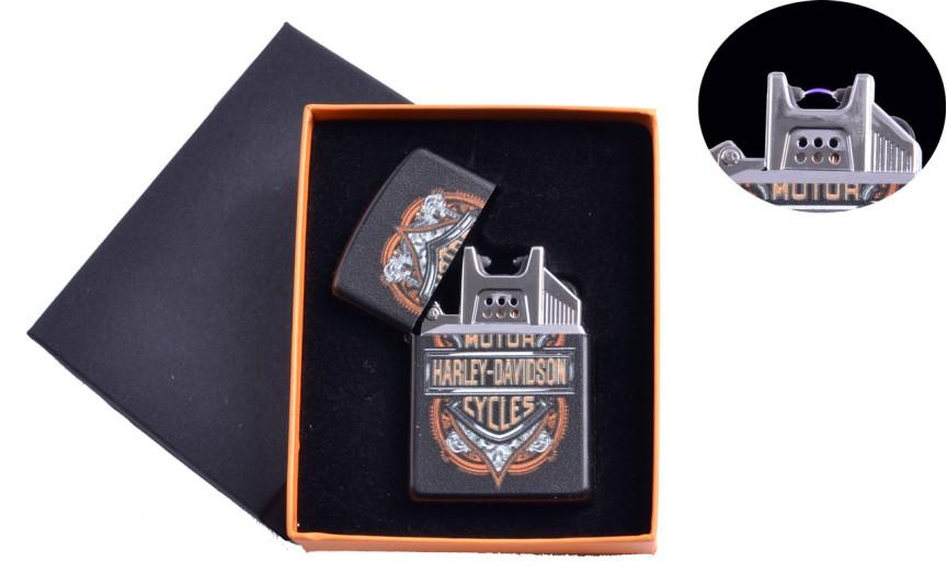 "USB  зажигалка ""Harley-Davidson"" (Электроимпульсная) №4776A-4"