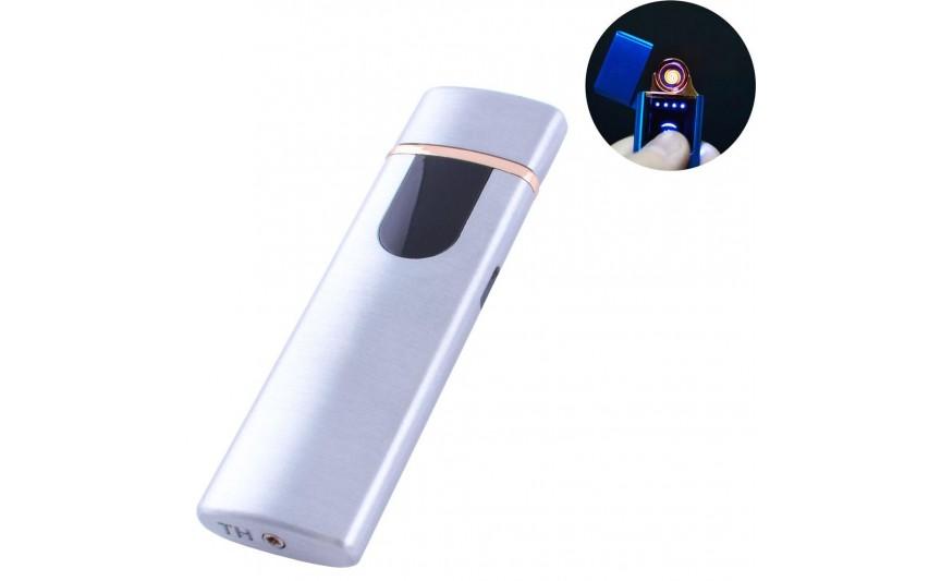 USB зажигалка Lighter №HL-75 Silver