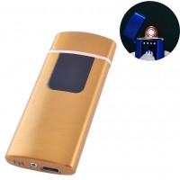 USB зажигалка Lighter №HL-76 Gold