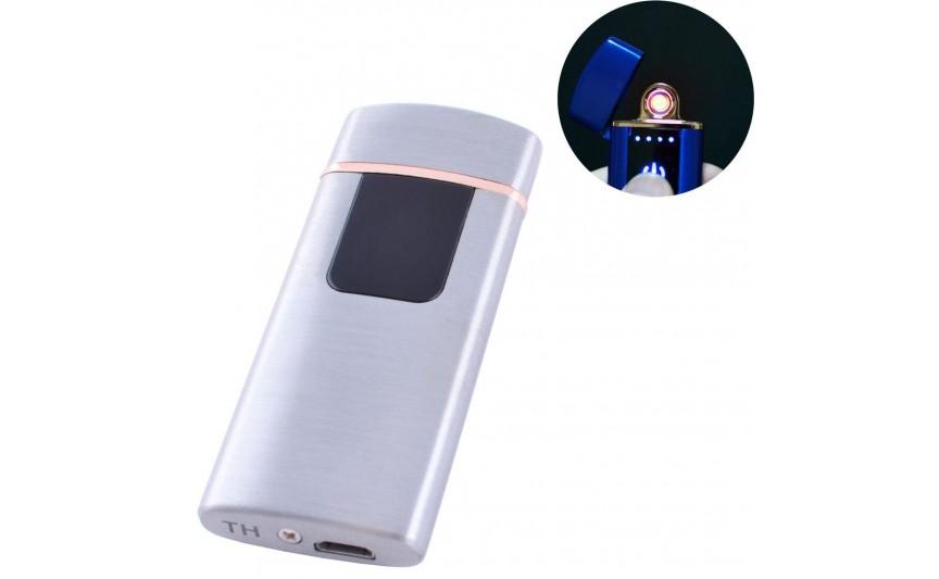 USB зажигалка Lighter №HL-76 Silver