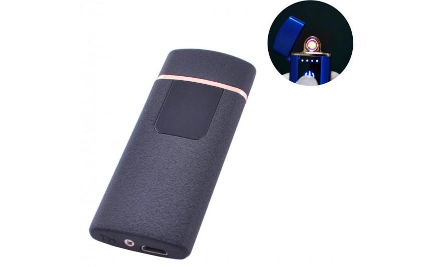 USB зажигалка Lighter №HL-76 Black матовый