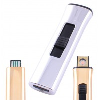 USB зажигалка Lighter №HL-78 Silver