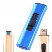 USB зажигалка Lighter №HL-78 Blue