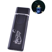 USB зажигалка Волк №HL-80-2
