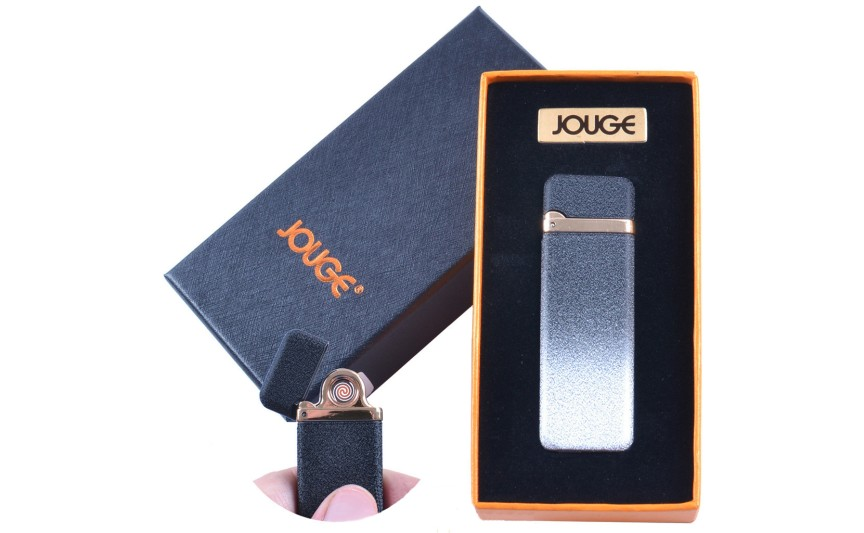 """USB зажигалка в подарочной упаковке """"Jouge"""" (Двухсторонняя спираль накаливания) №4869-2"""