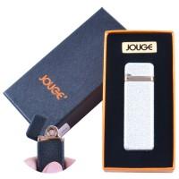 """USB зажигалка в подарочной упаковке """"Jouge"""" (Двухсторонняя спираль накаливания) №4869-3"""