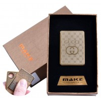 USB зажигалка-слайдер в подарочной коробке  (спираль накаливания) №4693B-5