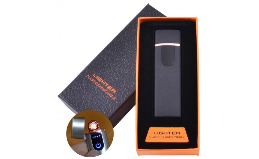 USB зажигалка в подарочной коробке Lighter №HL-101-3