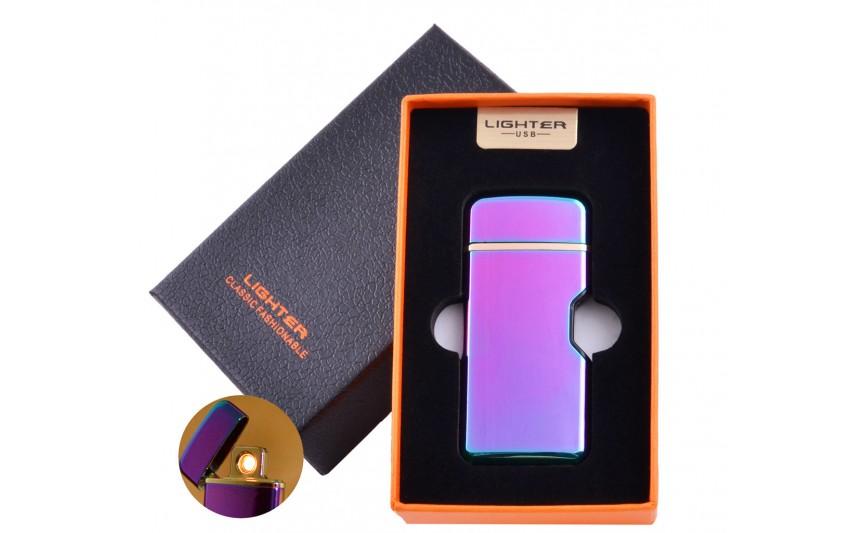 USB зажигалка в подарочной коробке Lighter №HL-114 Хамелеон