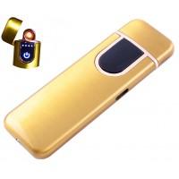 USB зажигалка Lighter №HL-142 Gold