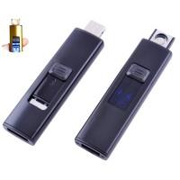 USB зажигалка Украина №HL-144 Black