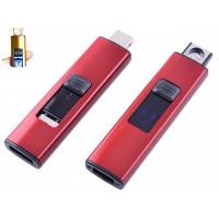 USB зажигалка Украина №HL-144 Red