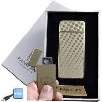 """USB зажигалка в подарочной упаковке """"Fang Jin"""" (спираль накаливания) №4796С-1"""