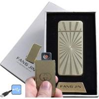 """USB запальничка в подарунковій упаковці """"Fang Jin"""" (спіраль розжарювання) №4796С-2"""