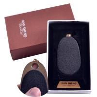 """USB зажигалка-брелок в подарочной упаковке """"Кулон"""" (Спираль накаливания) №4867-3"""