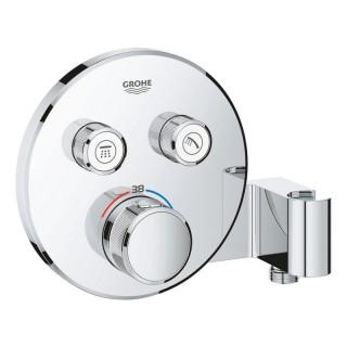 Термостат для скрытого монтажа на 2 выхода Grohe Grohtherm SmartControl 29120000
