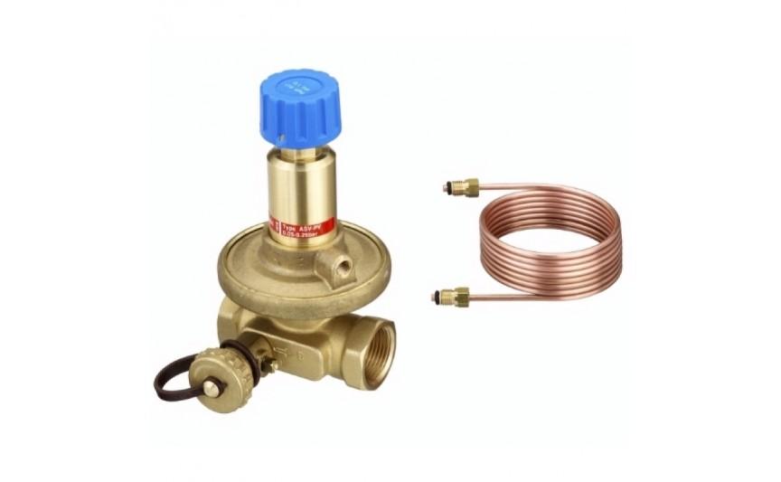 Балансировочный клапан ASV-PV 1/2' 0,05-0,25 бар Danfoss (003L7601/003Z5501)