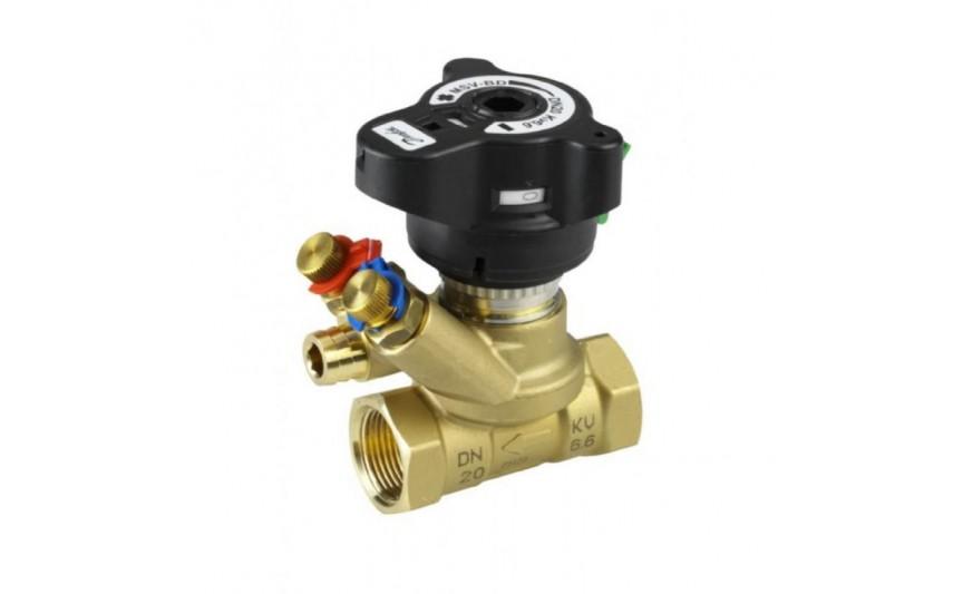 Балансировочный клапан LENO MSV-BD 1/2',kvs 2,5 Danfoss (003Z4000)