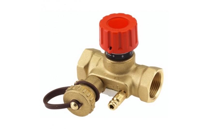 Балансировочный клапан USV-I 1' с дренажным краном Danfoss (003Z2133)