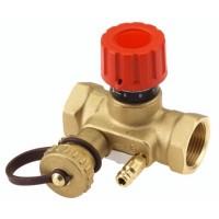 Балансировочный клапан USV-I 1/2 с дренажным краном Danfoss (003Z2131)