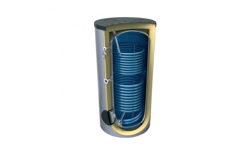 Бойлер косвенного нагрева напольный два т.о. 1000 л. 3,45/1,31 кв. м (EV 13/7S2 1000 101 F44 TP2 С)