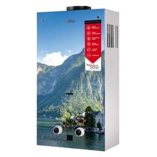 Колонка газова димохідна Aquatronic JSD20-AG208 10 л скло (гори)