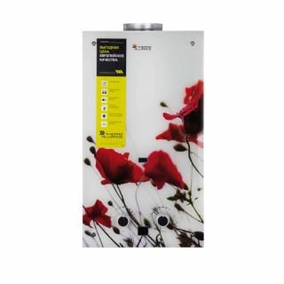 Колонка газовая дымоходная Thermo Alliance JSD20-10GB 10 л стекло (цветок)