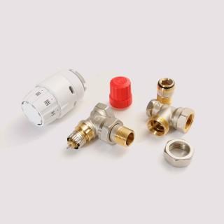 Комплект термостатический угл 1/2 RAS-C2+RA-N+RLV-S Danfoss (013G2219)