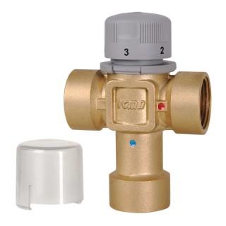 Змішувач термостатичний 3/4 бічний суміш. (20-65С) Icma №143