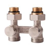 Вентиль двотрубний подвійний термостатичний 1/2 (нижн.підкл) Icma № 897