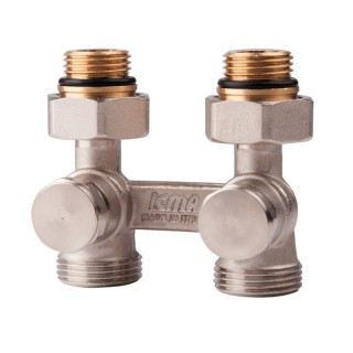 Вентиль двох труб.подвійний термостат. 1/2 (нижн.підкл) Icma № 897