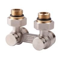 Вентиль двотрубний подвійний термостат. 1/2 (задн.підкл) Icma № 884