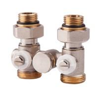 Вентиль однотрубный двойной термостатический 1/2 (нижн.подкл) Icma №902