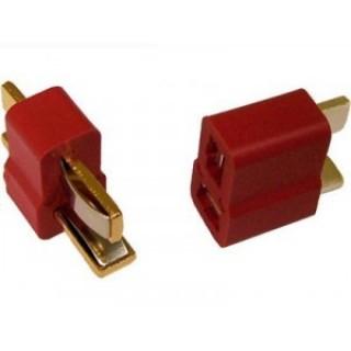 Конектори HOBBYWING T-Connectors (Deans), 3 пари HW86070040