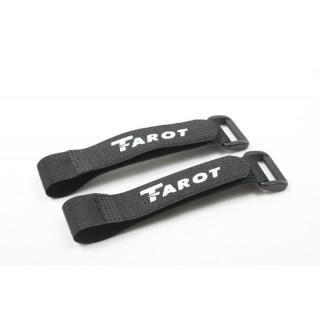 Стяжки на липучці Таро 21см 2шт для кріплення акумуляторів (TL2696)