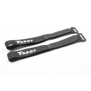 Стяжки на липучці Таро 36см 2шт для кріплення акумуляторів (TL2698)