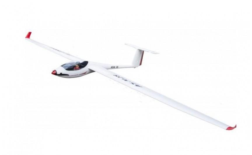 Авиамодель на радиоуправлении планера VolantexRC ASW28 (TW-759-1) 2600мм RTF