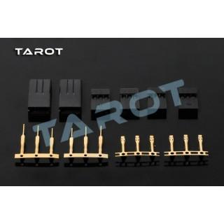 Комплект конекторів Tarot для сервоприводів JR мама 2шт + ТАТО 4шт (TL 2896-02)