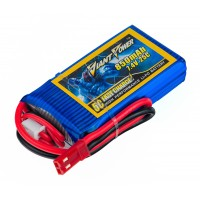 Аккумулятор Giant Power Li-Pol 850mAh 7.4V 2S 25C 13x29x55мм JST