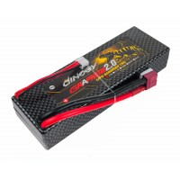 Аккумулятор Dinogy G2.0 Li-Pol 6500mAh 7.4V 2S 70C Hardcase 25x46x138мм T-Plug