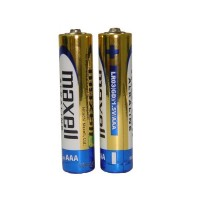Батарейка AAA Maxell Alkaline LR03 в плівці 1шт (2шт в уп.)