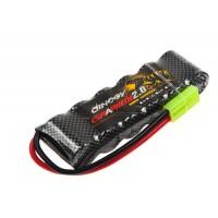 Акумулятор Dinogy NiMH 2/3A 1600mAh 7.2 V 17х32х100мм Mini Tamiya