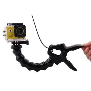 Кріплення прищіпка SJCam з гнучким штативом для камер SJ4000, SJ5000, M10