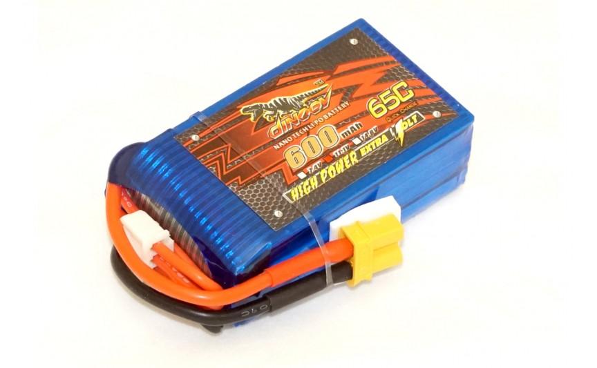 Акумулятор Dinogy Li-Pol 600mAh 11.1 V 3S 65C XT30 53x30x18.4мм